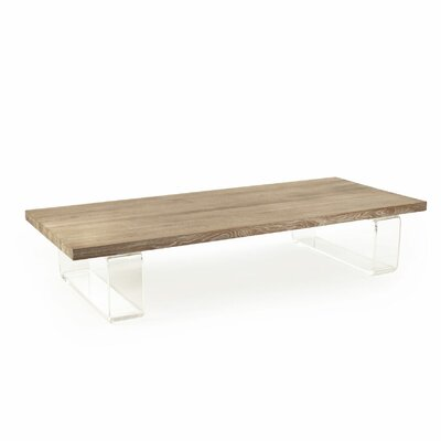Amenia Acrylic Coffee Table
