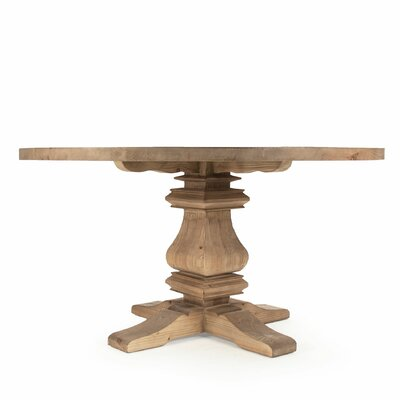 Max Dining Table Size: 70.75 H x 31 W x 70.75 D