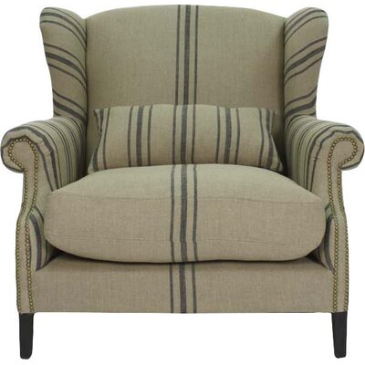 Napoleon Half Wingback Chair
