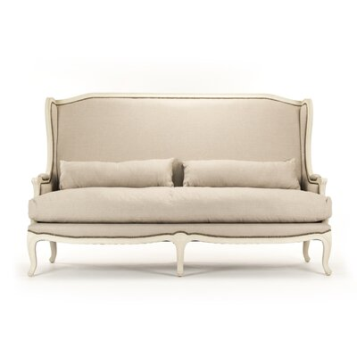 Leon Sofa Upholstery: Natural