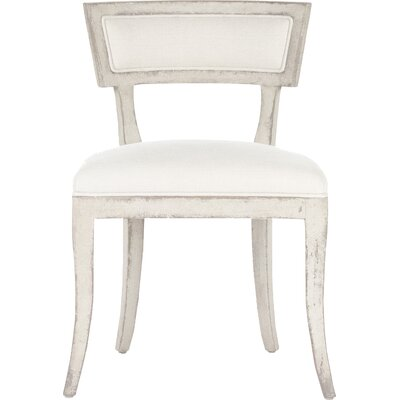 Ayer Side Chair Upholstery/Finish: White