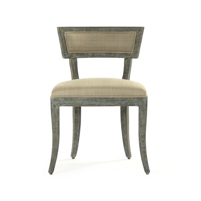 Ayer Side Chair Upholstery/Finish: Sage Green