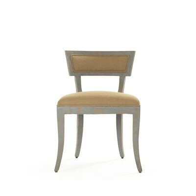 Ayer Side Chair Upholstery: Tan