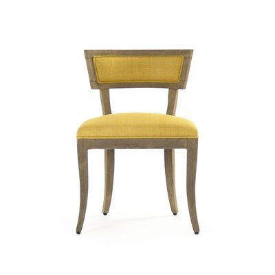 Ayer Side Chair Upholstery/Finish: Yellow