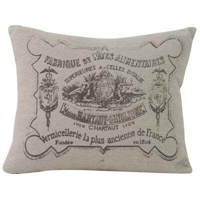 Stamp Throw Pillow
