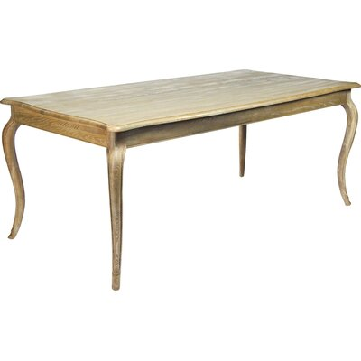 Vineyard Dining Table Finish: Limed Grey