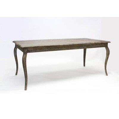 Vineyard Dining Table Finish: Limed Charcoal