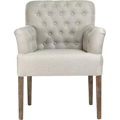 Barrois Armchair Upholstery: White