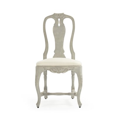 Kate Side Chair Upholstery: Cream