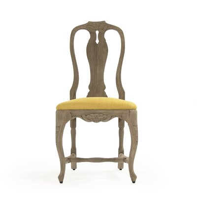 Kate Side Chair Upholstery: Yellow
