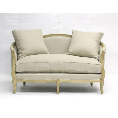 Maison Loveseat Upholstery: Natural