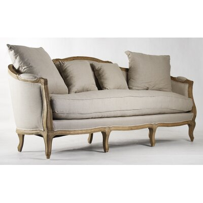 Maison Linen Sofa Upholstery: Natural Linen