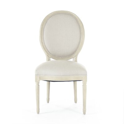 Medallion Upholstered Dining Chair