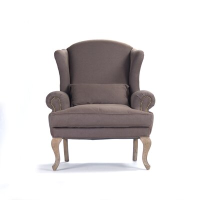 Zacharie Wingback Chair