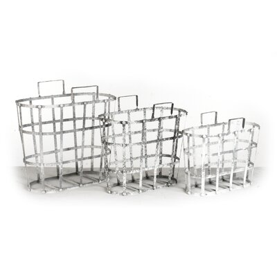 3 Piece Metal Basket Set HR110865.60