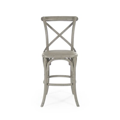 Parisienne Cafe 26 Bar Stool Finish: Green