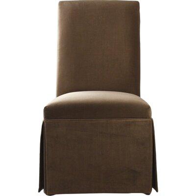 Tuxedo Upholstered Dining Chair Upholstery: Latte Gibson
