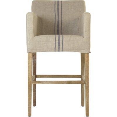 Avignon Bar Stool Upholstery: Blue