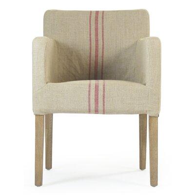 Avignon Armchair Upholstery: Red