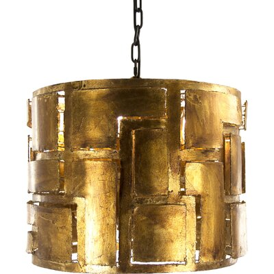 Gabi 4-Light Drum Chandelier