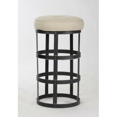 Duchene Recycled Metal 32 Bar Stool