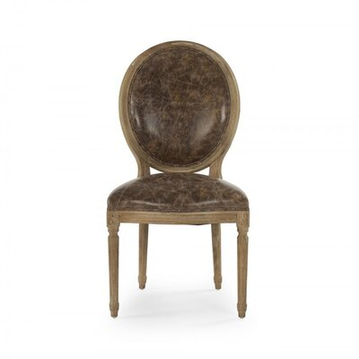 Arvidson Leather Side Chair