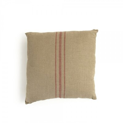 Hortense Stripe in Middle Throw Pillow