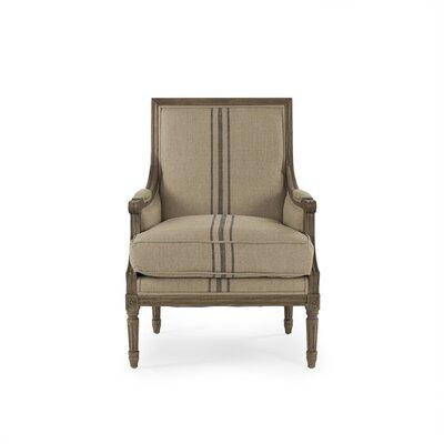 Arviso Armchair Upholstery: Blue Stripe