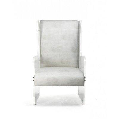 Larock Acrylic Wingback Chair