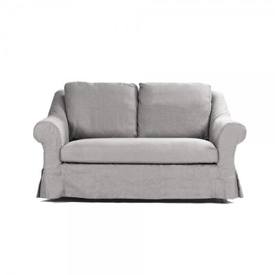 Dowler Settee Upholstery: Gray