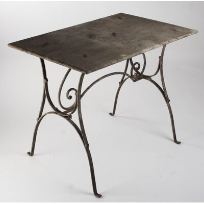 Cathedral Metal End Table