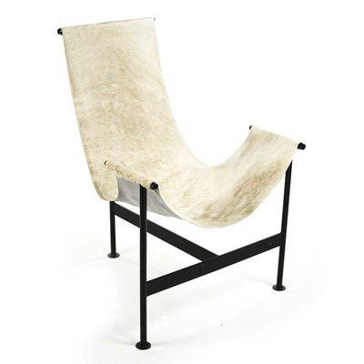 Cutler Hide Sling Side Chair