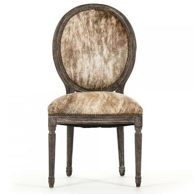 Arvidson Cowhide Side Chair