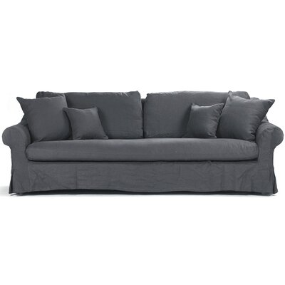 Dowless Sofa Upholstery: Navy Blue