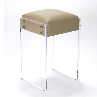 Lasher Acrylic 25 Bar Stool