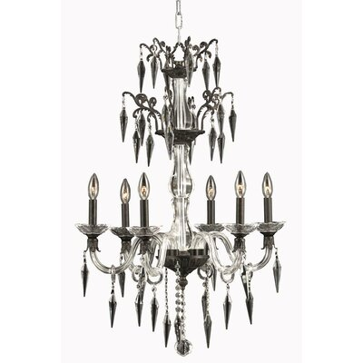 Shaina 6-Light Candle-Style Chandelier