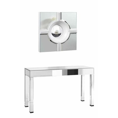 Pennsburg Console Table with Mirror