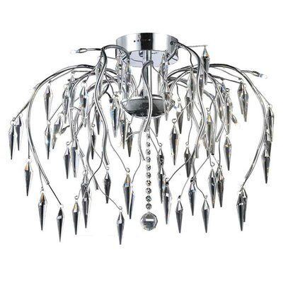 Rana 12-Light Semi Flush Mount