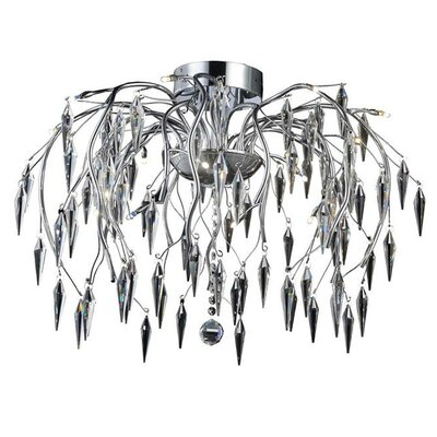 Rana 16-Light Semi Flush Mount