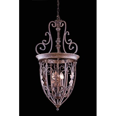 Buechler 4-Light Foyer Pendant