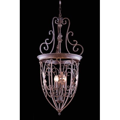 Buechler 6-Light Foyer Pendant