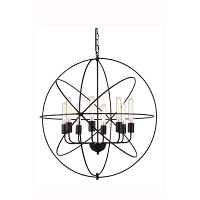 Vienna 8-Light Foyer Pendant Finish: Dark Bronze