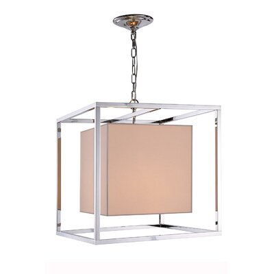 Kresge 2-Light Foyer Pendant Finish: Polished Nickel
