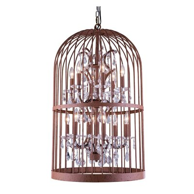 Roxie Traditional 12-Light Foyer Pendant