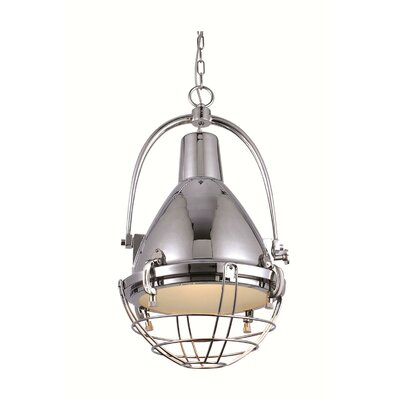 Burriss 1-Light Foyer Pendant