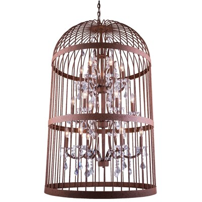 Roxie Traditional 18-Light Foyer Pendant