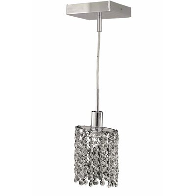 Kruse Contemporary 36 1-Light Pendant Crystal Color / Crystal Trim: Crystal (Clear) / Elegant Cut
