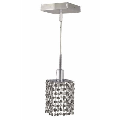 Kruse 36 1-Light Crystal Pendant Crystal Color / Crystal Trim: Crystal (Clear) / Spectra Swarovski