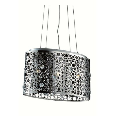 Darcey 3-Light Kitchen Island Pendant
