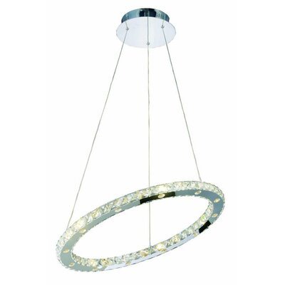 Edgardo 24-Light Contemporary Crystal Chandelier